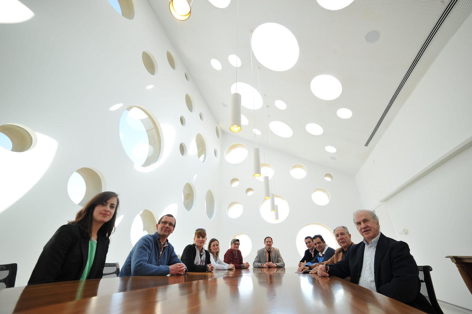 El Comité de Calificación, reunido en las instalaciones del Consejo Regulador.